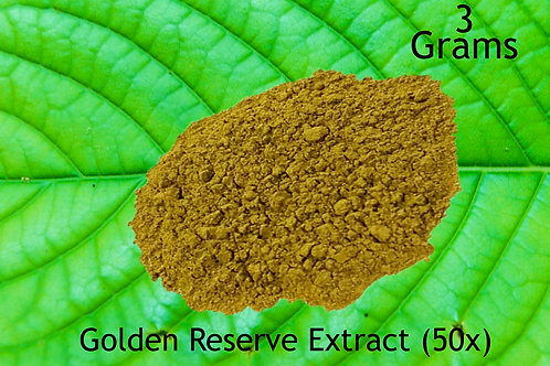 Golden Reserve Extract 3 Grams