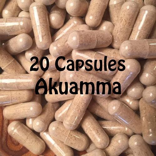 Akuamma 20 Capusles
