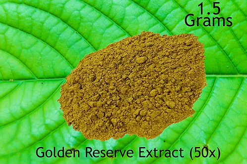 Golden Reserve Extract 1.5 Grams