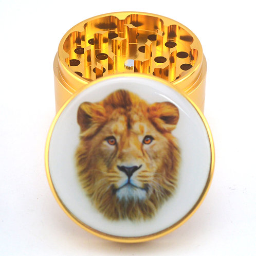 Gold Lion Herb Grinder