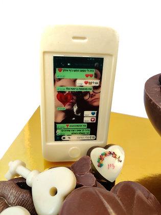 סדנת שוקולד חנוכה (כולל סמארטפון שוקולד!)