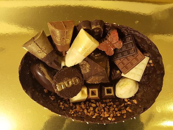 מתנה לפסח - קערת 100% שוקולד