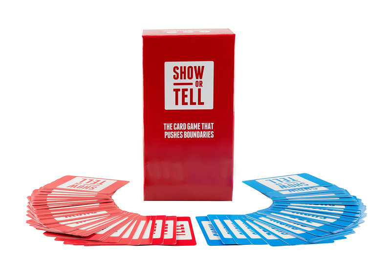Show or Tell Party Game and Card Game