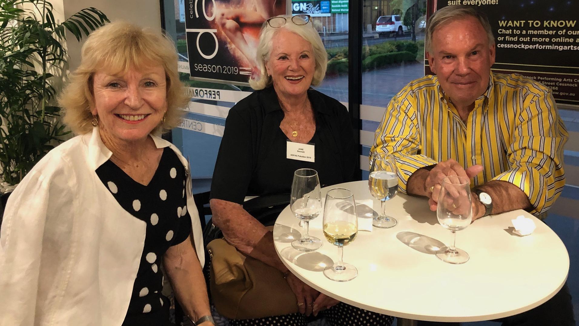 Jan, Jane Bennet & Robert George