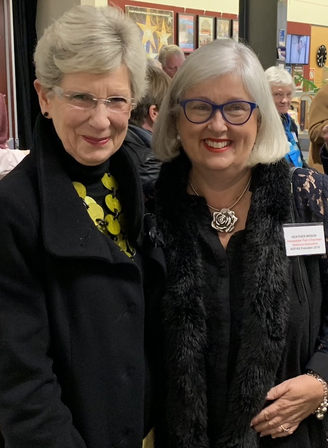 Jane Smith & Heather Wilson
