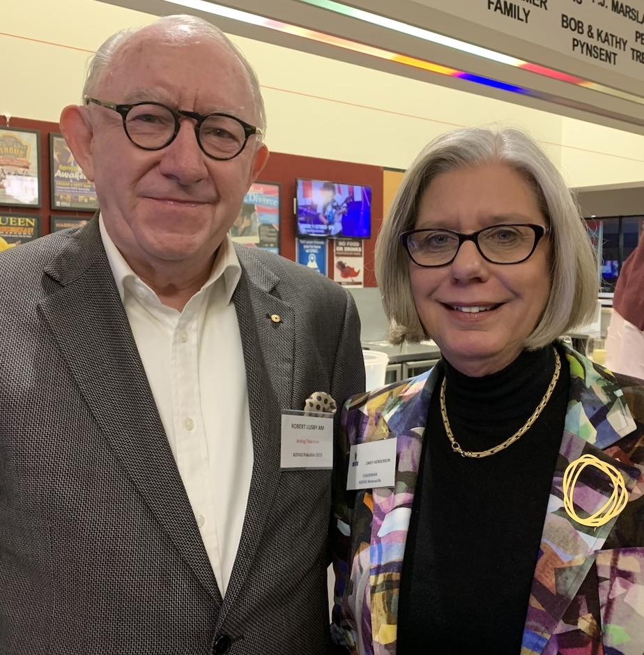 Bob Lusby & Lindy Henderson