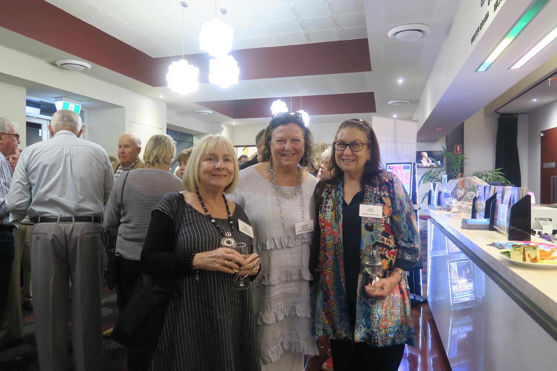 Paula, Heather McK + Jenney