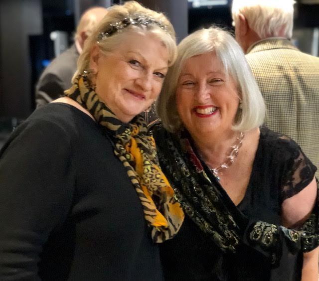 Dorothy Chalmers & Heather Wilson