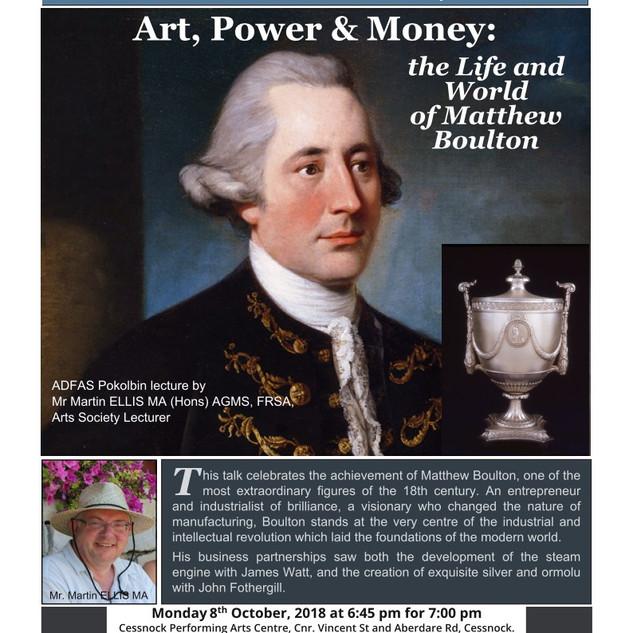 Martin Ellis - Art, Power& Money