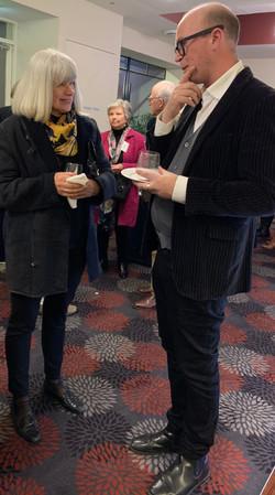 Sandra Blackburne & Dr Nick Gordon