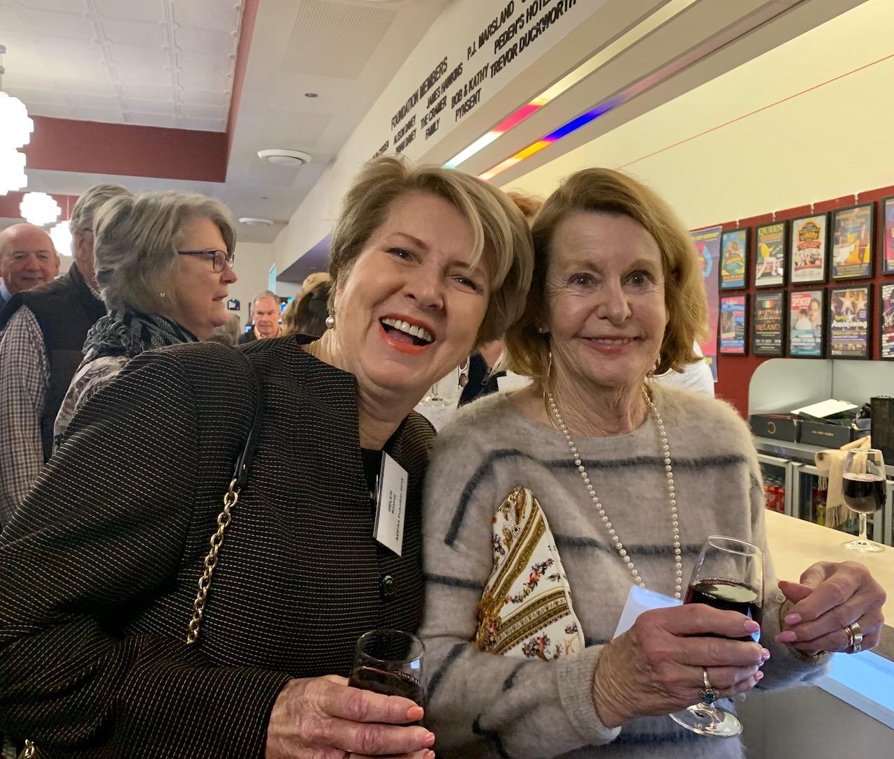 Helen Kinsey and Jennifer