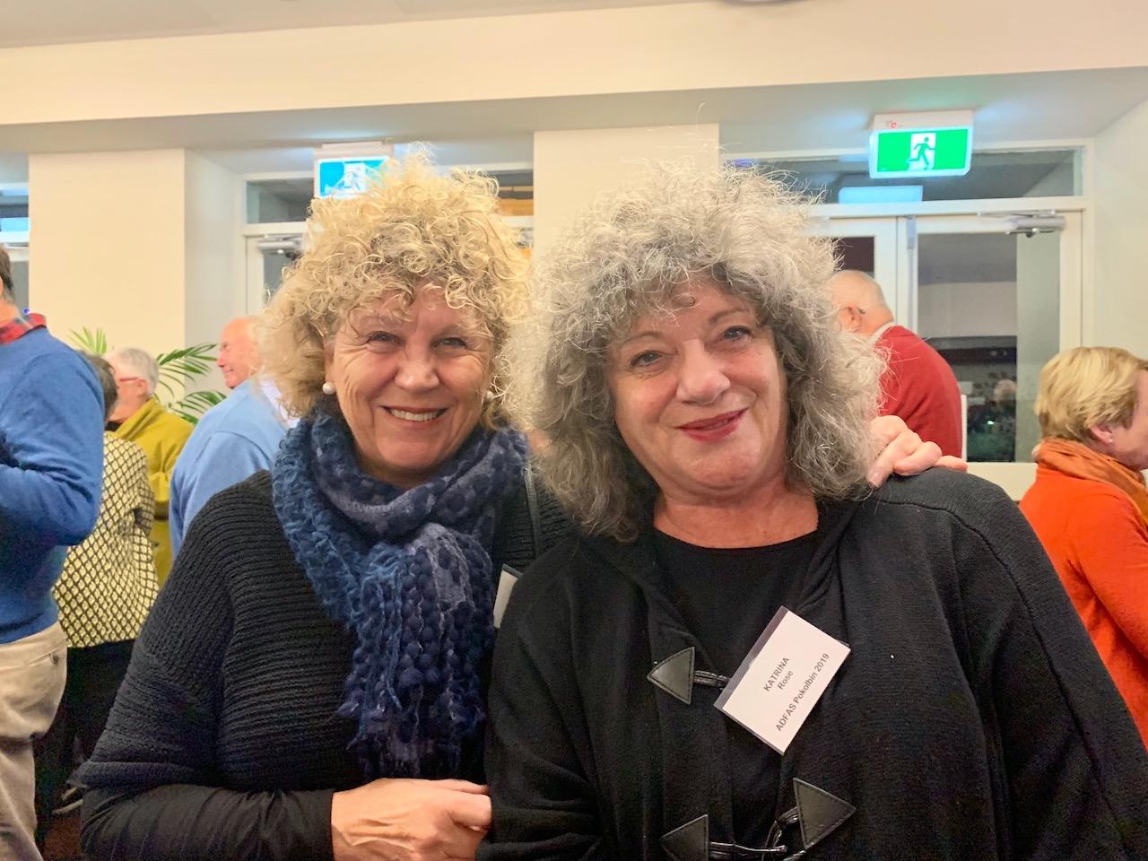 Sandra McElwee & Katrina Rose
