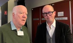 Peter Roberts & Dr Nick Gordon