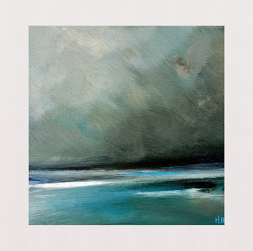 Winter Beach 1 Print