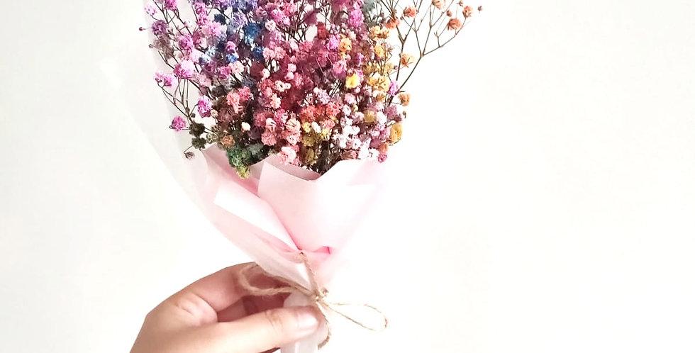 Dried Rainbow Bouquet