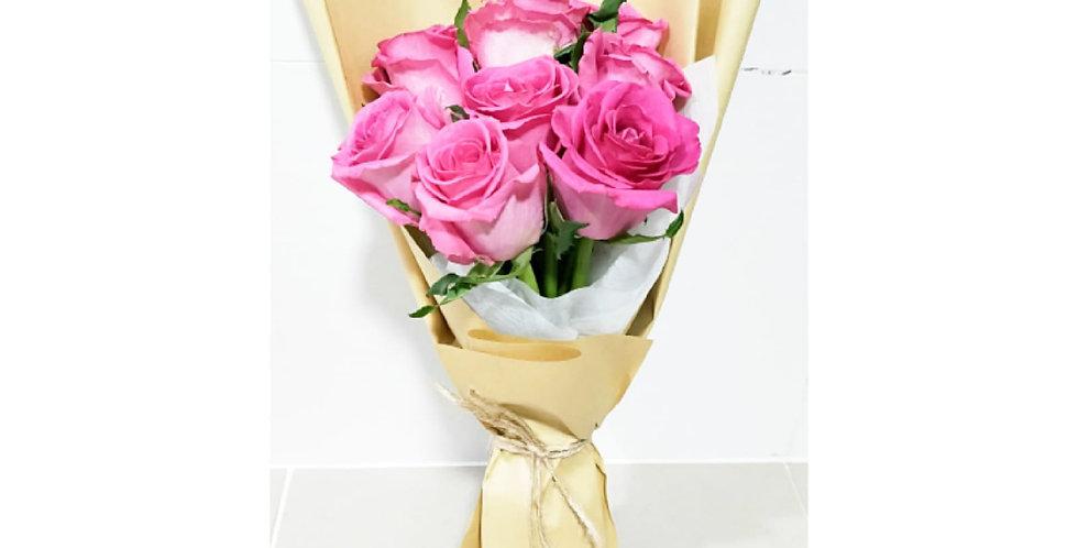 A dozen Pink Rose