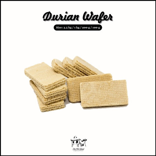 Durian Wafer | Biscuit | The Old Skool SG