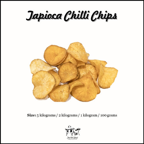 Tapioca Chilli Chips | Cracker | The Old Skool SG