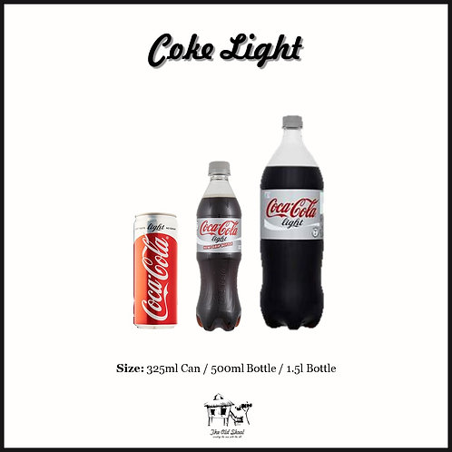 Coke Light | Chilled | The Old Skool SG