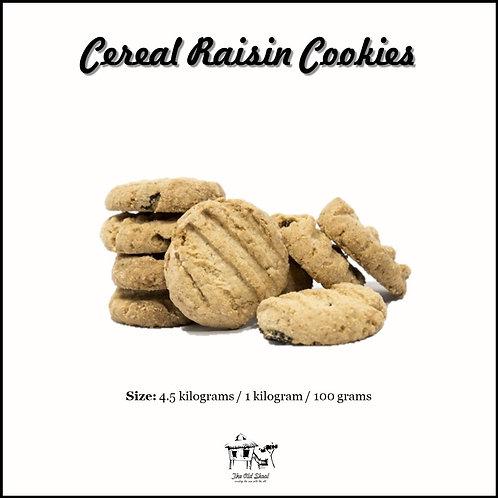 Cereal Raisin Cookies   Biscuit   The Old Skool SG