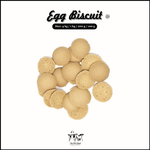 Egg Biscuit | Biscuit | The Old Skool SG