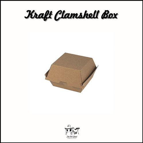 Kraft Clamshell Box | Packaging | The Old Skool SG