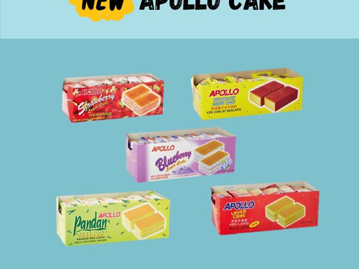 New Product in Store, Apollo Cake!