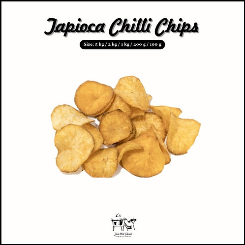 Tapioca Chilli Chips | Cracker | The Old Skool SG