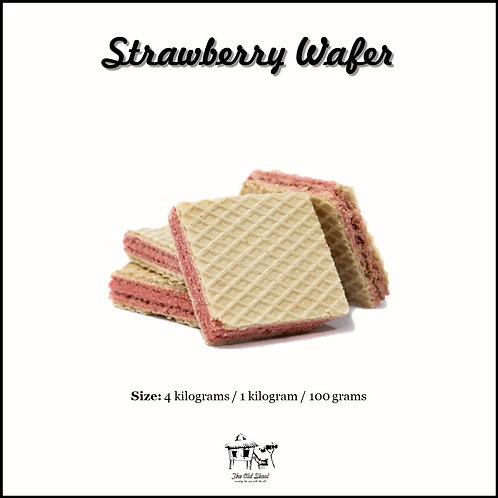Strawberry Wafer   Biscuit   The Old Skool SG