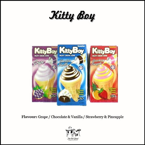 Kitty Boy Fruity Cream Cone