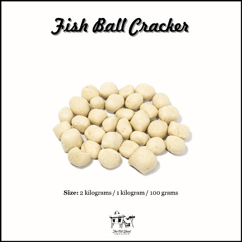 Fish Ball Cracker | Cracker | The Old Skool SG