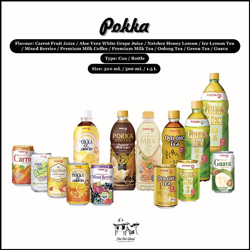Pokka | Beverage | The Old Skool SG