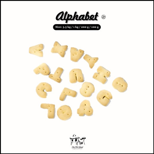 Alphabet | Biscuit | The Old Skool SG