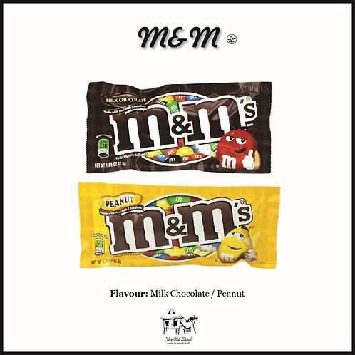 M&M   Chocolate   The Old Skool SG