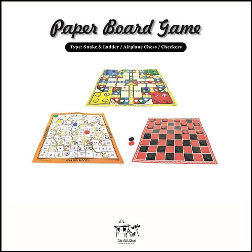 Paper Board Game | Toys | The Old Skool SG