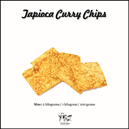 Tapioca Curry Chips | Cracker | The Old Skool SG