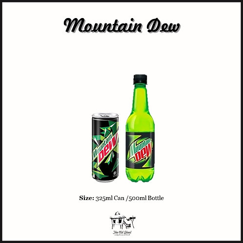 Mountain Dew | Chilled | The Old Skool SG