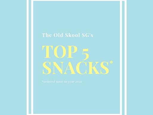 Top 5 Snacks by The Old Skool SG