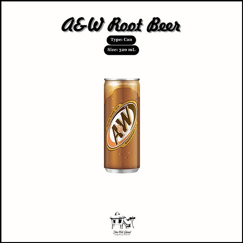 A&W Root Beer | Beverage | The Old Skool SG