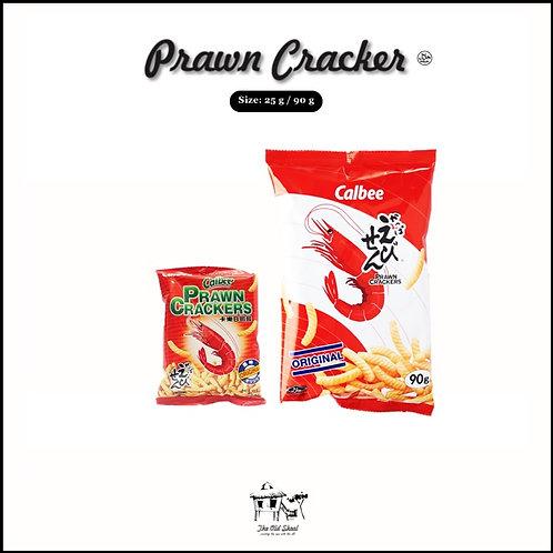 Calbee Prawn Cracker | Cracker | The Old Skool SG