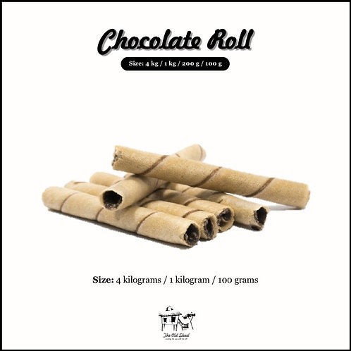 Chocolate Roll | Biscuit | The Old Skool SG