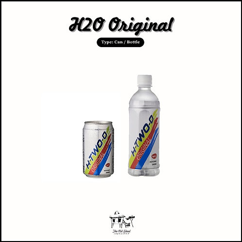H20 Original   Beverage   The Old Skool SG