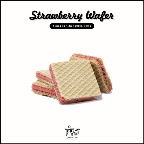 Strawberry Wafer | Biscuit | The Old Skool SG