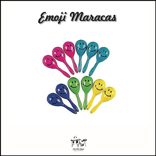 Emoji Maracas | Toys | The Old Skool SG