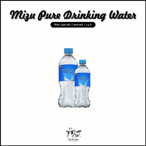 Mizu Pure Drinking Water | Beverage | The Old Skool SG