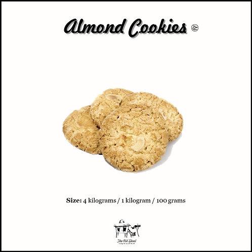 Almond Cookies   Biscuit   The Old Skool SG