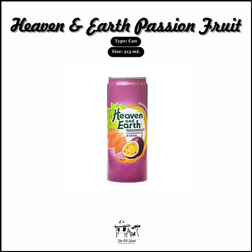 Heaven & Earth Passion Fruit | Beverage | The Old Skool SG