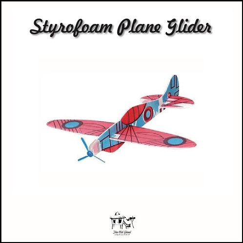 Styrofoam Plane Glider | Toys | The Old Skool SG