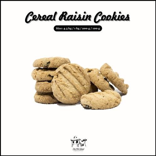 Cereal Raisin Cookies | Biscuit | The Old Skool SG