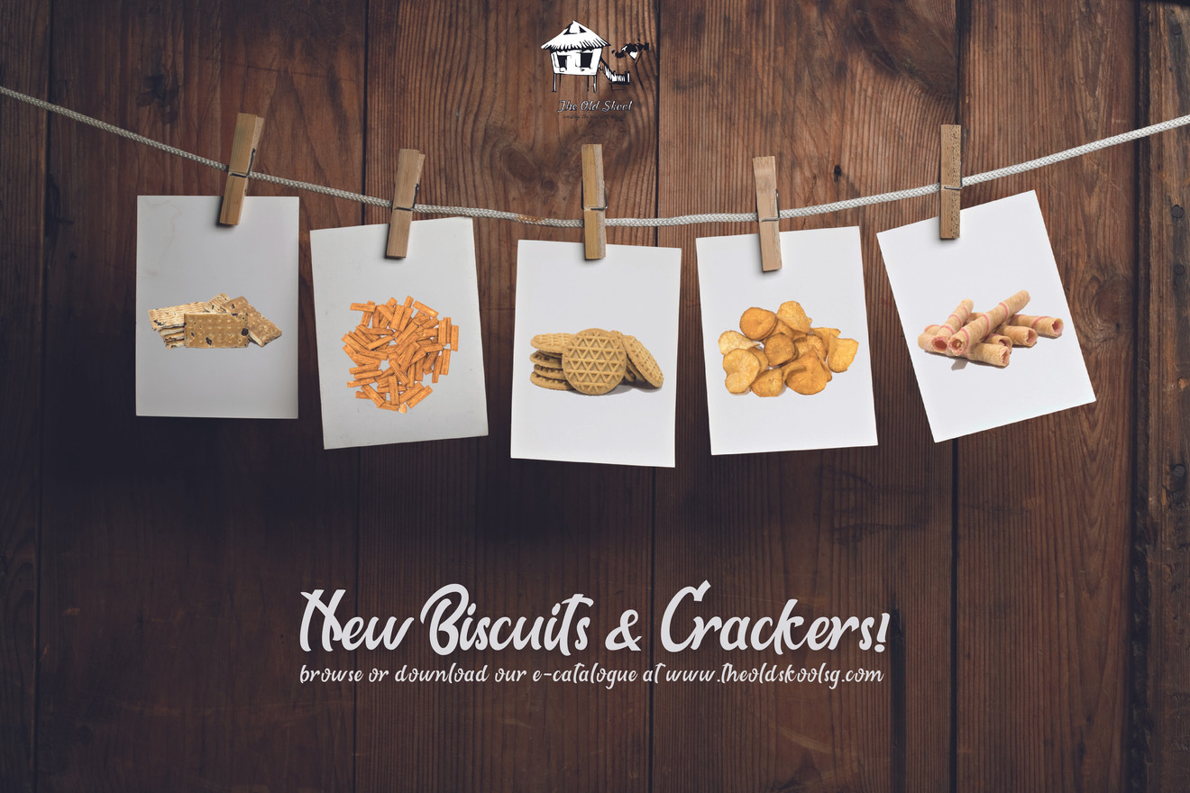 Our New Biscuits & Crackers